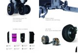 Rad-faltbarer Mobilitäts-Roller der 48V 250W LG18650 Lithium Lon Batterie-3 mit Cer-Bescheinigung