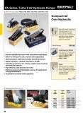 Enerpac PA 시리즈, 터보 II 공기 유압 펌프 Enerpac 유압 공구