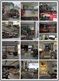 Tavolino da salotto di vetro del lato superiore del tempiale rotondo del blocco per grafici dell'acciaio inossidabile (CJ-184)