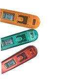 Portable thermomètre LCD numérique précis transparent