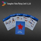 Cartes à jouer en plastique Cartes éducatives Cartes-clés avec du plastique neuf