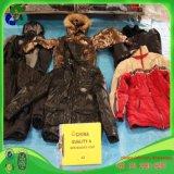 Tipo roupa da mistura do revestimento de Wadded dos homens da segunda mão na boa qualidade do preço barato