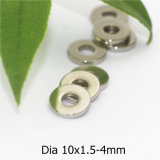 Ring-permanenter gesinterter Segment-Magnet NdFeB in der Nickel-Beschichtung