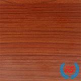 1250 mm*2470mm de grano de madera de cerezo melamina papel para el MDF (8133-1)