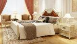 Festes hölzernes Bett-moderne doppelte Betten (M-X2287)