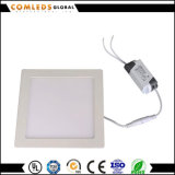 Aluminiuminnen6w quadratisches LED Panel Downlight mit Dimmable