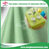 Tela no tejida ahorro de energía con poco carbono para el mantel