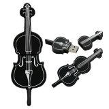 Flash da movimentação do violino do instrumento musical