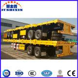 20FT 평상형 트레일러 40FT 또는 판매를 위한 플래트홈 콘테이너 트레일러