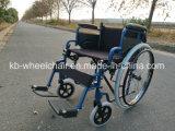 Desbloquear rápido, sillón de ruedas plegable fácil