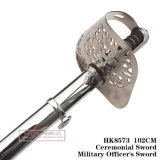 Spada cerimoniale 102cm HK8573 dell'ufficiale militare della spada della spada Commanding