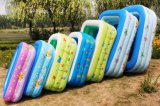 Rectangular Shape Inflatable Outdoor Swimming Pool for Kids