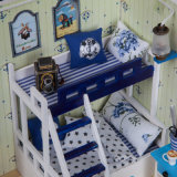 2017 het Houten MiniatuurHuis van Doll DIY voor Kinderen