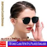 1189 rétro lunettes de soleil polarisées par type classique unisexe
