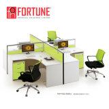 Moderner SitzKundenkontaktcenter-Büro-Arbeitsplatz der Büro-Möbel-4 (FOH-SS40-2828)