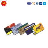 Nueva tarjeta de PVC blanco con orificio de perforación, PVC Tarjeta con chip, PVC Smart Card