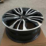 17-дюймовый черный 5 отверстие подбарабанья Emr легкосплавные колесные диски