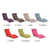 Silla perezosa portable del sofá del plegamiento ajustable portable del metal