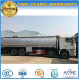 Camion-citerne lourd d'essence de capacité du camion 30t de réservoir de stockage de pétrole de Shacman 8X4