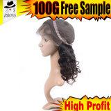 Бразильский парик шнурка фронта волос с более высокой плотностью