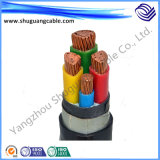 Пвх изоляцией/оболочку кабеля питания добычи угля