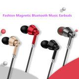 Il metallo magnetico Bluetooth di nuovo stile mette in mostra Earbuds con il periferico