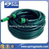 Boyau hydraulique renforcé de pipe d'irrigation de jardin de l'eau tressé par fibre flexible en plastique de PVC