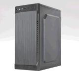 Nueva caja de la PC del negro ATX del diseño, caja del ordenador