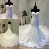 Кружевной Русалки вечерние платья устраивающих платье свадебные платья