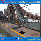 Vente de lavage de dragueurs/bateau de panoramique de chapelet hydraulique d'or