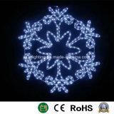 Снежинка светодиодный индикатор Рождества