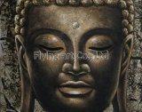 Groupe à la maison de décoration de Bouddha de peinture à l'huile