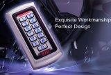 Waterdichte IP68 Toegangsbeheer & Wiegand 26 Bit I/O van de Deur van het Toetsenbord van identiteitskaart van het Geval RFID van het Metaal Enige Stand-Alone