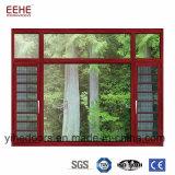 Type français Windows en aluminium et portes Windows en verre rond