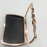 2017イブニング・バッグのハンド・バッグの化粧箱のための熱い弓上層の鉄フレーム