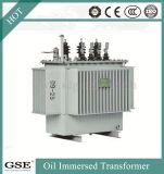 33kv S11-M relleno de aceite de transformadores de distribución de 400 kVA.