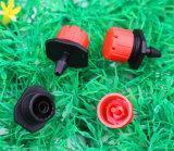 Ilot ajustable de plástico de 8 Orificios Dripper/rociadores de micro riego