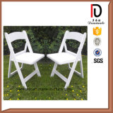 حديقة أبيض بلاستيكيّة خارجيّ بينيّة يطوي عرس كرسي تثبيت