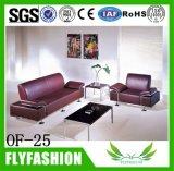 meubles utilisés à la maison confortables de biens de sofa de bureau de sofa en cuir gris de la salle de séjour of-20