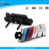 Insignia delantera de ///M del emblema de la divisa de la parrilla del M3 M5 de la potencia del cromo M para BMW X3 X5 X6 E36 E46 E90