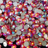 Горячее сбывание и главный камень Preciosa экземпляра кристаллический стекла Rhinestone Fix Сиама Ab света качества горячий для вспомогательного оборудования одежды