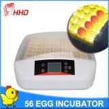 Incubatrice automatica dell'uovo del pollo di Hhd da vendere (YZ-56S)