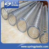 De plastic Slang van de Waterpijp van de Irrigatie van de Draad van het Staal van pvc Plastic Flexibele