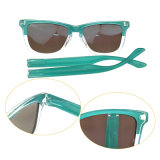 Occhiali da sole su ordinazione anabbaglianti all'ingrosso degli uomini di Eyewear di marchio UV400 di promozione