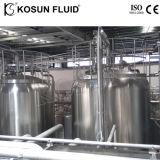 Filtro da acqua attivato industriale del carbonio dell'acciaio inossidabile