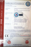 フランジを付けたようになった反腐食性の並べられた振動タイプ小切手弁(FEP/PFA/GXPO)