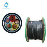 Bajo cable de transmisión aislado PVC de la tensión 600/1000V con IEC60502-1 Srandard