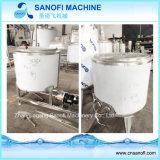 Mezclador detergente del acero inoxidable que cocina el tanque de mezcla del líquido con la calefacción