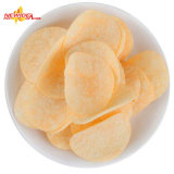 As batatas fritas automáticas das microplaquetas de batata dos petiscos sopraram máquina de empacotamento seca do alimento