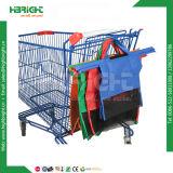 4 Stücke mehrfachverwendbare Einkaufswagen-Beutel-für Supermarkt